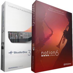 Presonus Bundle Studio One 3.5 Pro + Notion 6